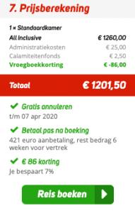 8 dagen naar het zonnige Egypte   All-inclusive voor maar €600,- p.p 2