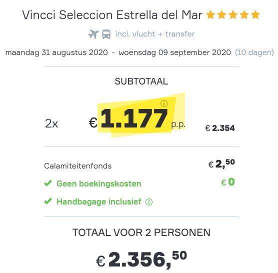 De laagste prijs voor een 10-daagse vakantie naar Marbella 2
